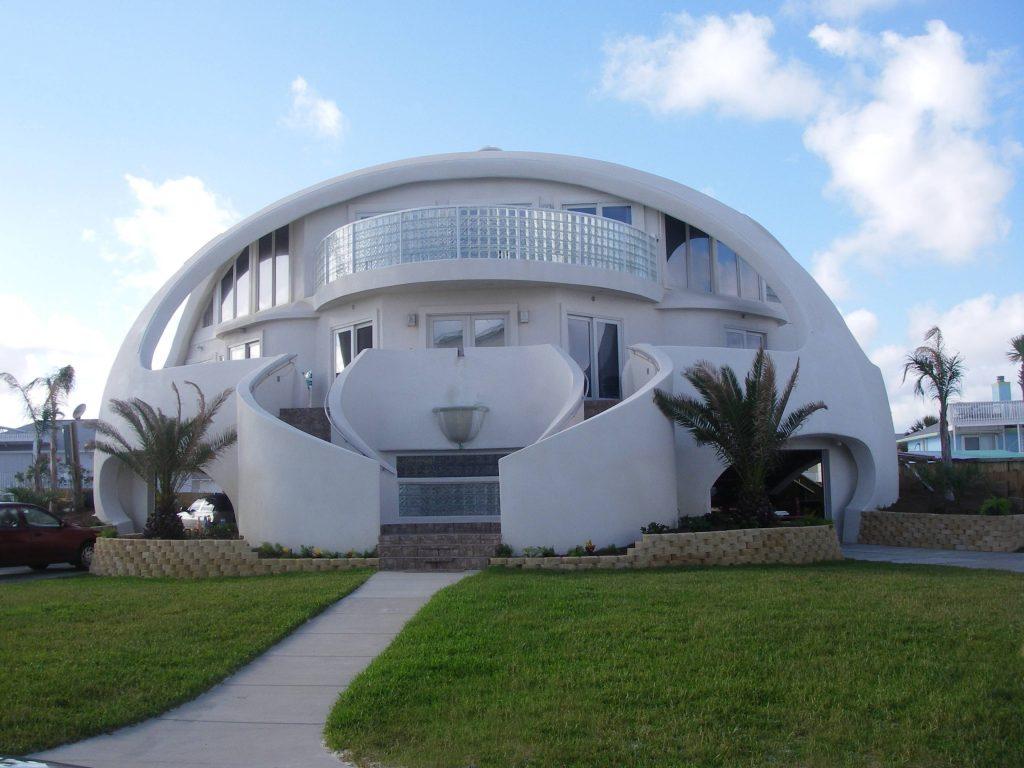 круглый дом, монолитный купол