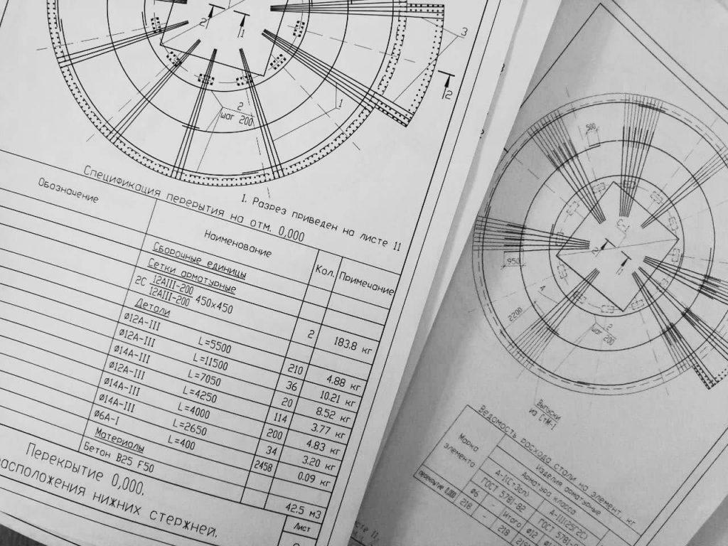 Проект круглого дома - конструкторский расчет